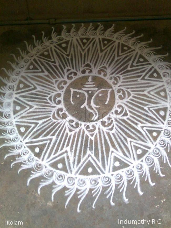 Rangoli: Three