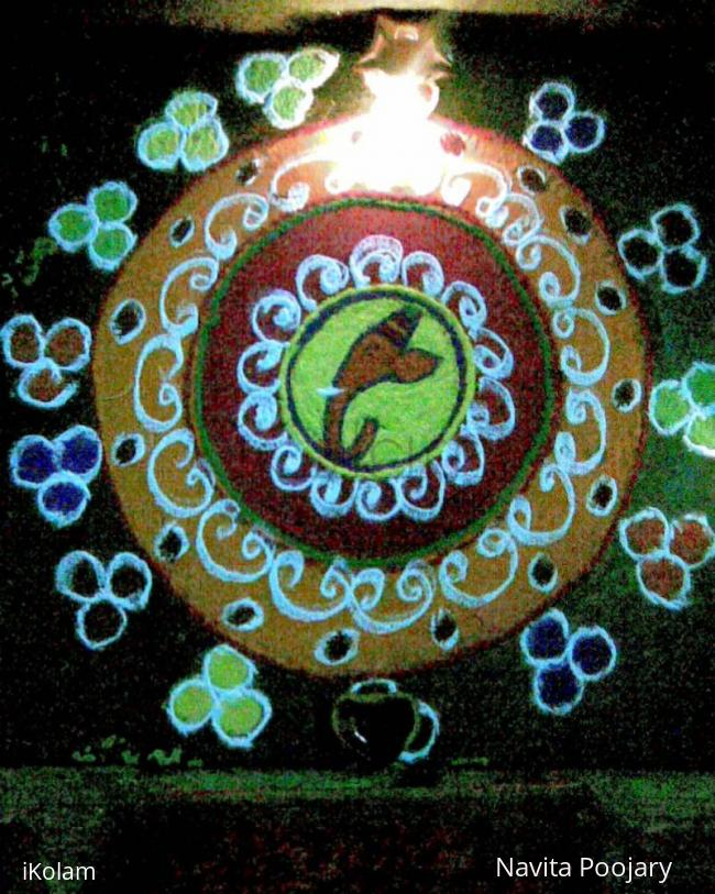 Rangoli: Diwali Rangoli for contest