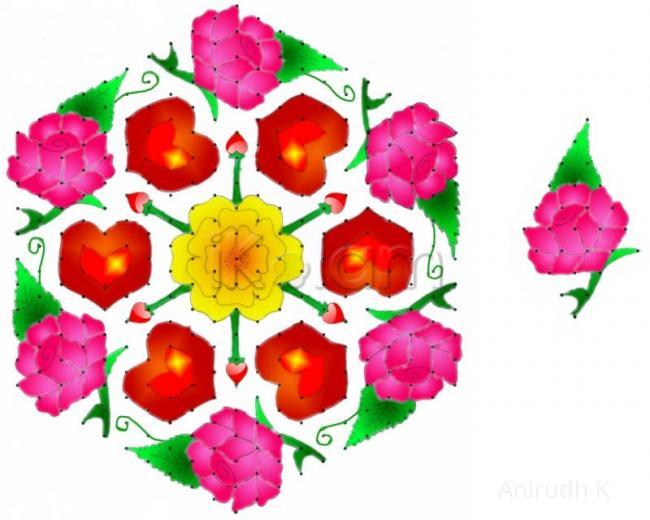 Rangoli: Valentine's Special