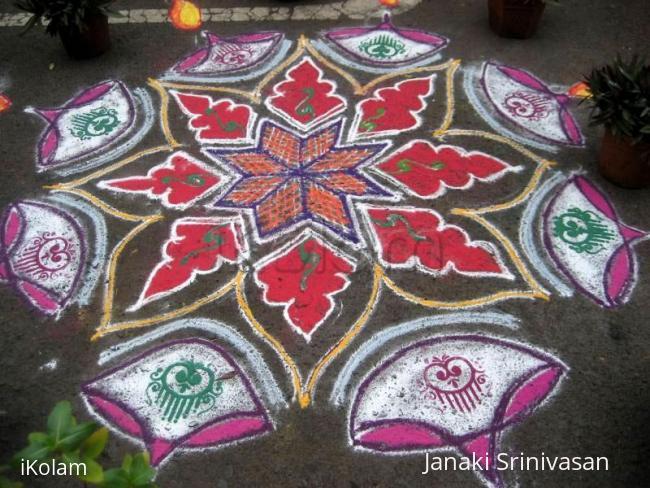 Rangoli: Diwali rangoli contest