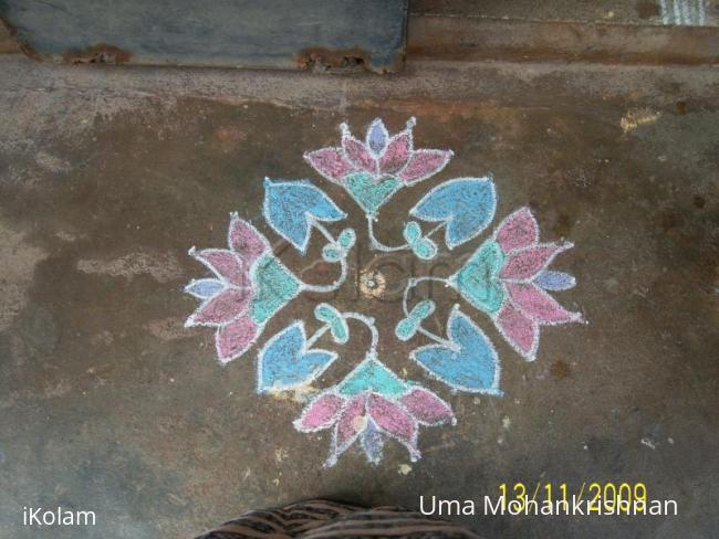 Rangoli: uma's kolam