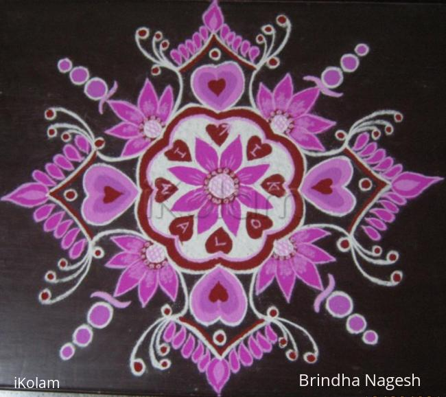 Rangoli: Happy Valentine's Day !