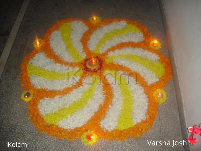 Rangoli: pookalam for diwali rangoli contest