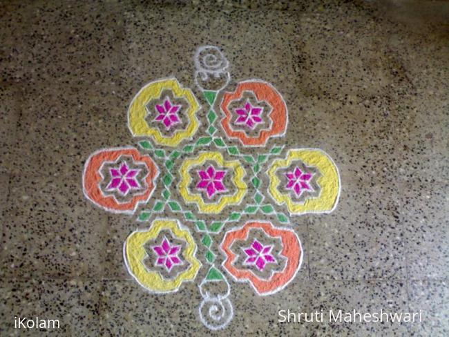 Rangoli: Ganesh Chaturthi 2010