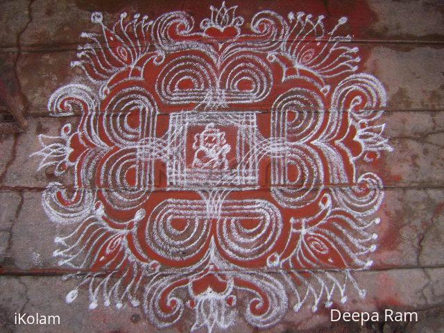 Rangoli: vinayaga chathurthi kolam 2010