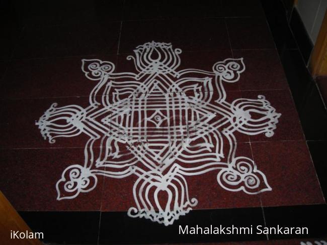 Rangoli: Navarathri day-1