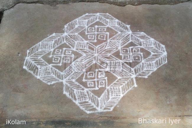 Rangoli: geometric