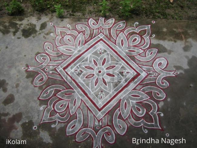 Rangoli: Aadi 3rd Friday kolam
