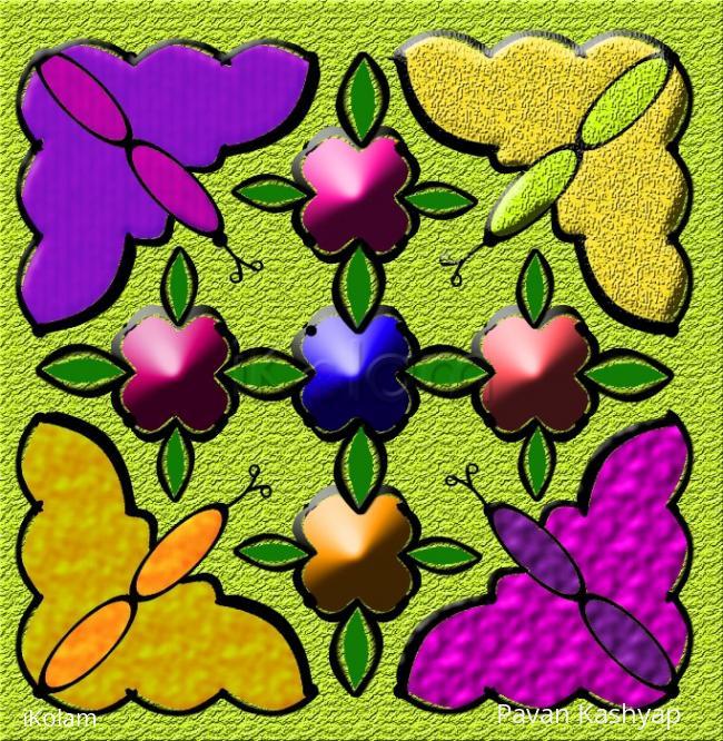 Rangoli: butterflies  - Let's get growing!