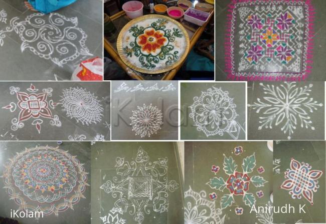 Rangoli: iKolam Karinval - Kolam Collage