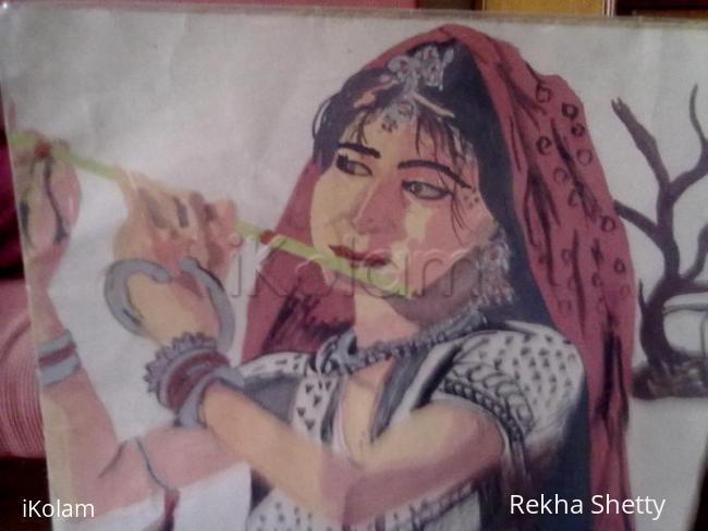 Rangoli: Painting-Banjaran(half-view)