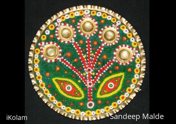 Rangoli: ARTI THALI 1