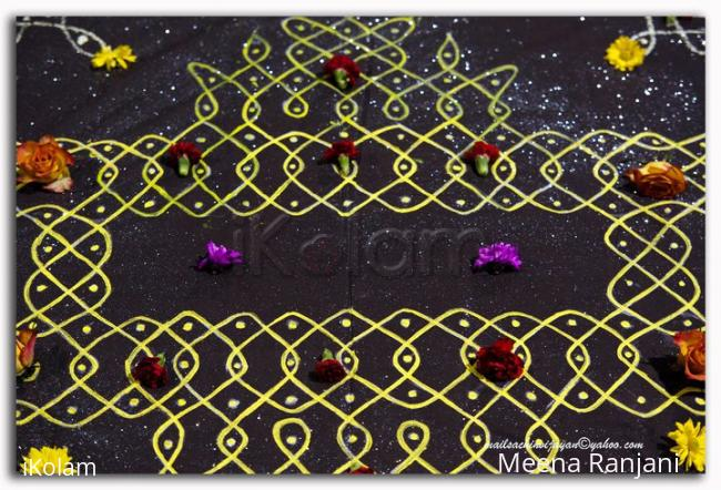 Rangoli: rangoli display for Diwali in dublin (9)