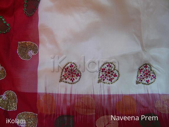 Rangoli: Saree Embroidery