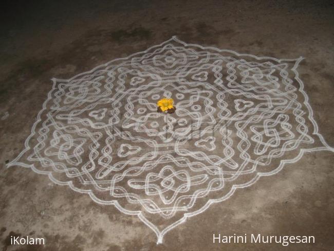 Rangoli: Margazhi dew drops kolam contest 2011