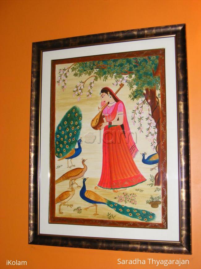 Rangoli: kangra painting
