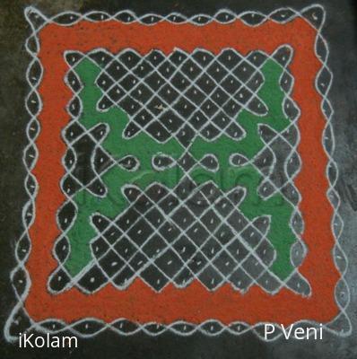 Rangoli: Sikku Kolam - 62