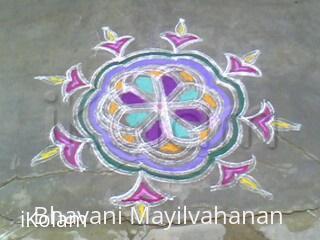 Rangoli: koalm-deepam2