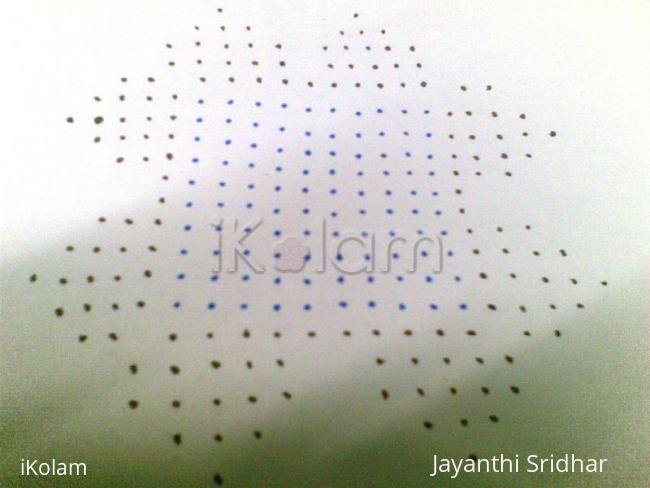 Rangoli: Dots Details for the contest kolam - Jasree
