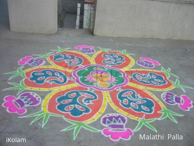 Rangoli: Sankranthi muggu