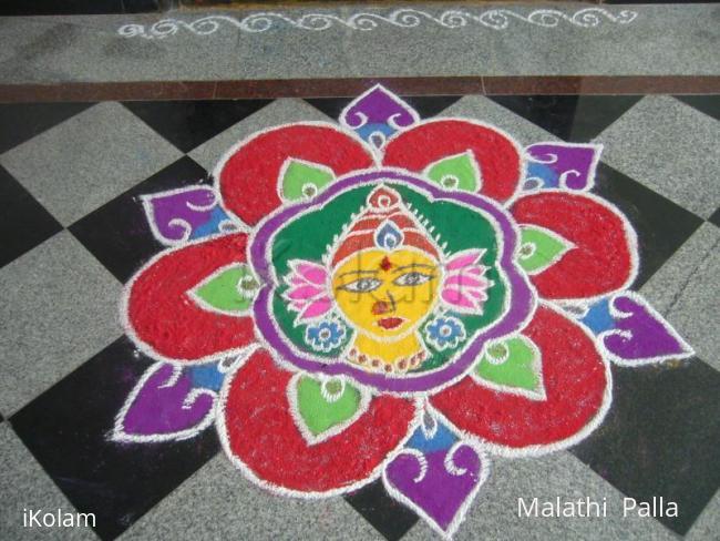 Rangoli: Sankranthi Lakshmi