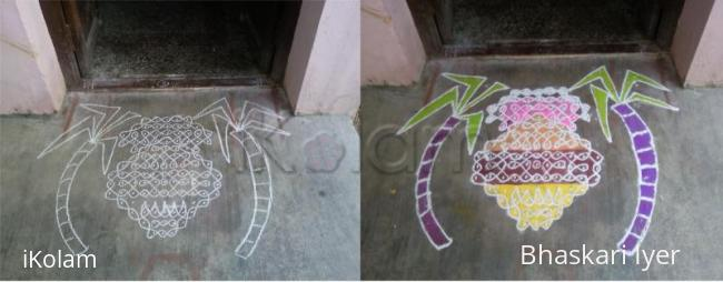 Rangoli: pongal kolam1/ marghazi contest