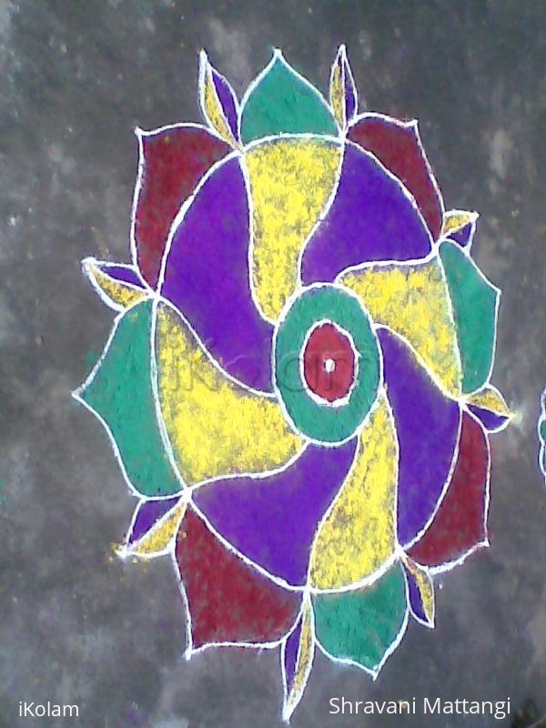 Rangoli: dussehra