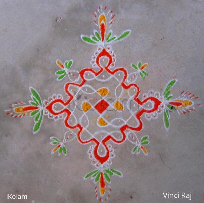 Rangoli: Kolam for Rani
