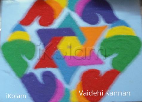 Rangoli: Diwali Kolam contest