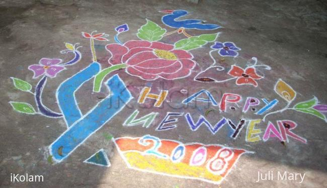 Rangoli: New Year