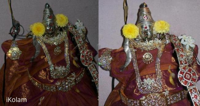 Rangoli: Our goddess