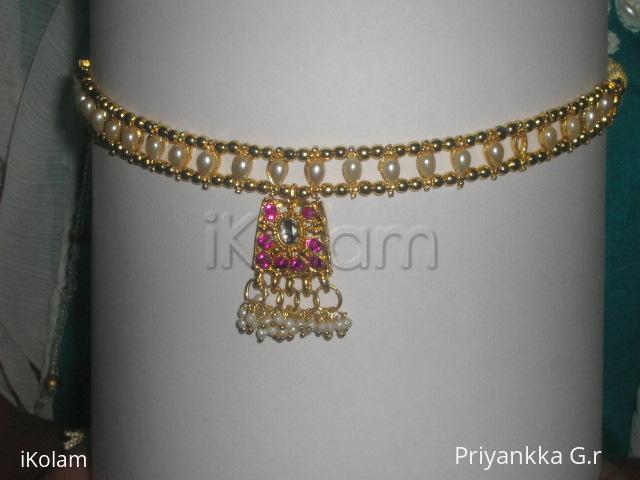 Rangoli: Artificial jewellery