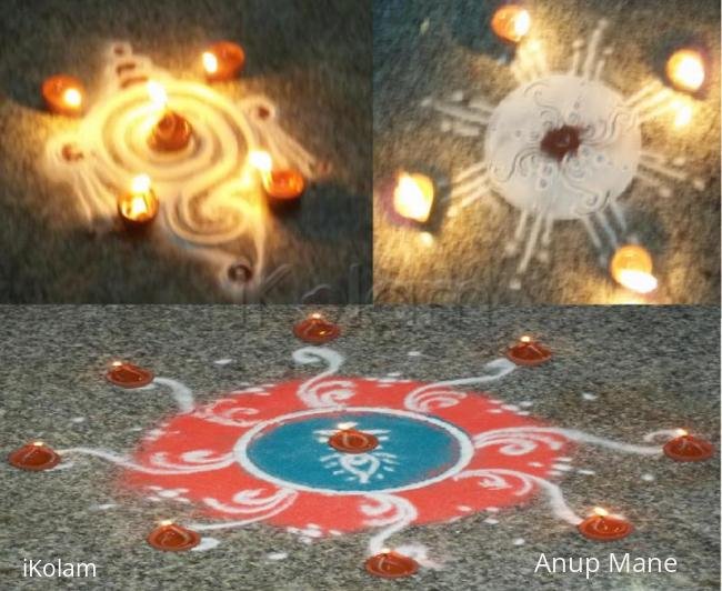Rangoli: Diwali Night full of lights