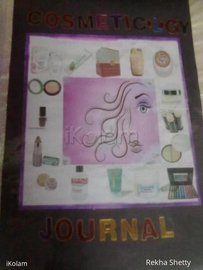 Rangoli: Cover page of journal
