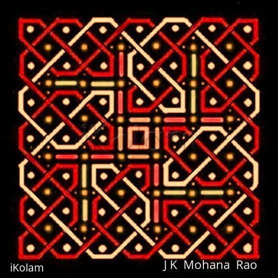 Rangoli: Another 7x7 pattern - 7x7-4