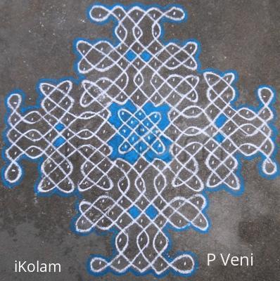 Rangoli: Sikku Kolam - 86
