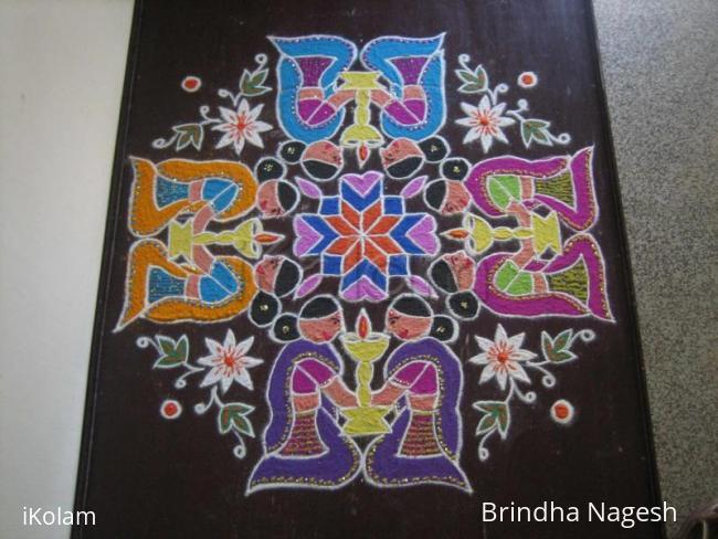 Rangoli: Mother's Day Kolam 2
