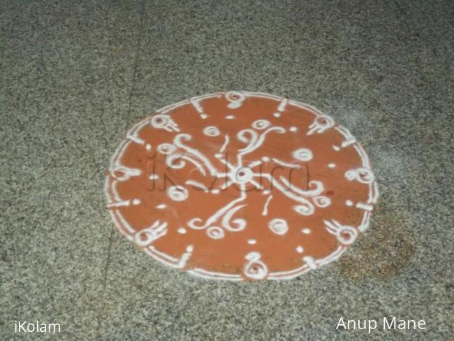 Rangoli: Rangoli during my Marriage :)