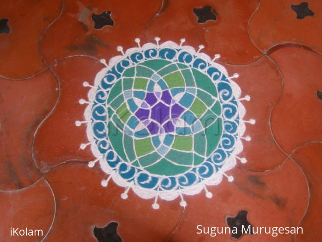 Rangoli: basic design