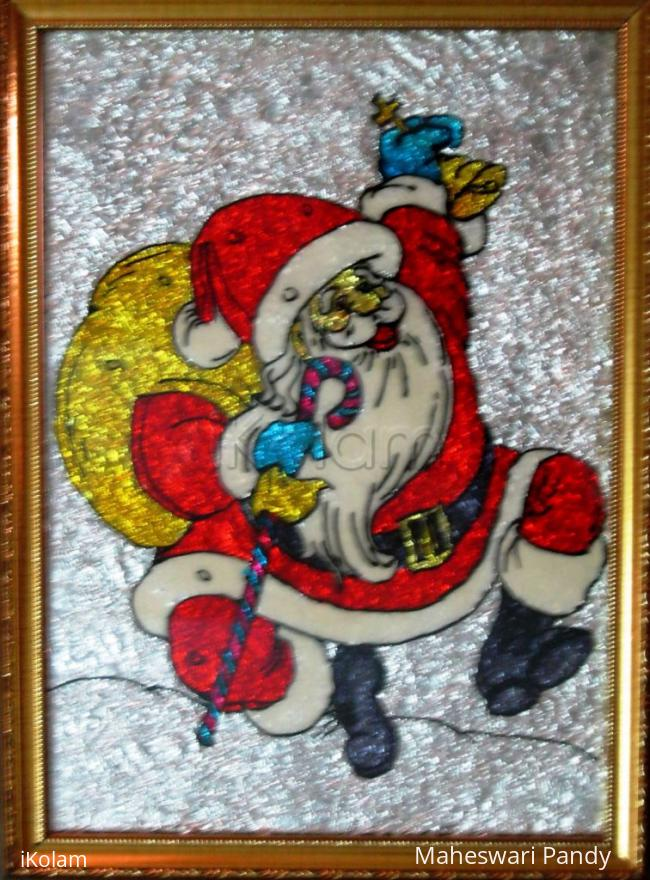 Rangoli: Santa Clause - The God's Messiah !
