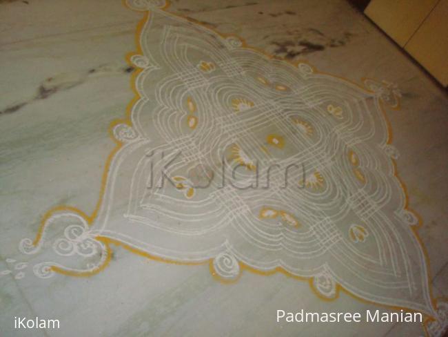 Rangoli: Vinayakar chaturthi kolam