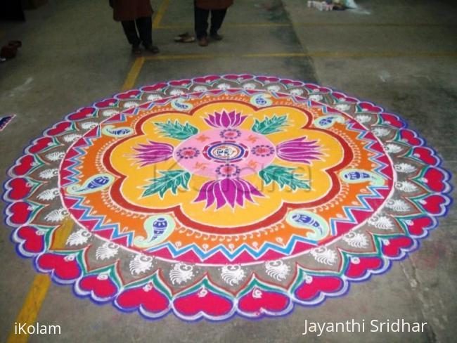 Rangoli: Ayudha Pooja Rangoli