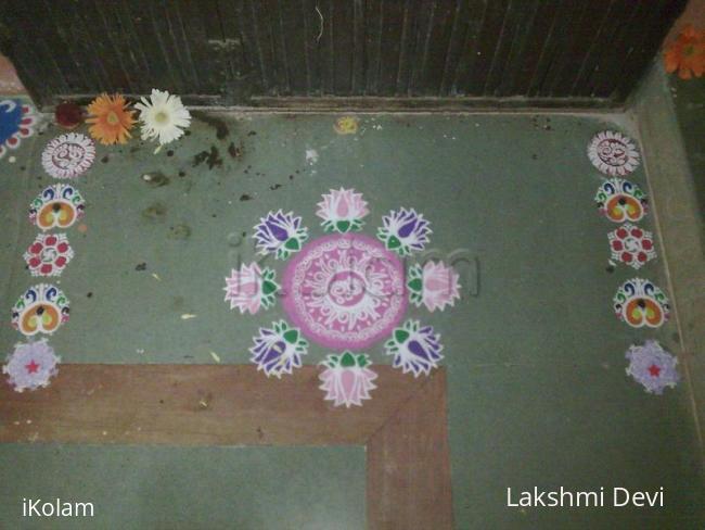 Rangoli: Stencil rangoli