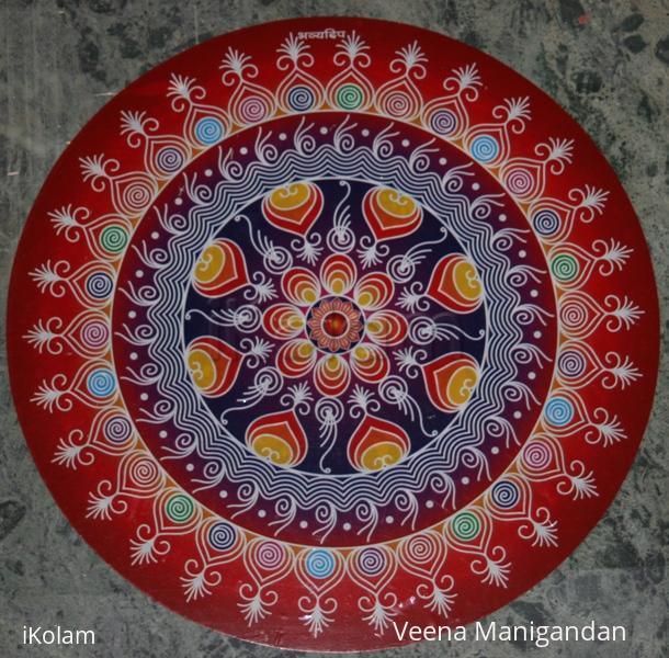 Rangoli: Sticker Kolam