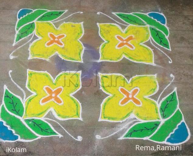 Rangoli: design rangoli