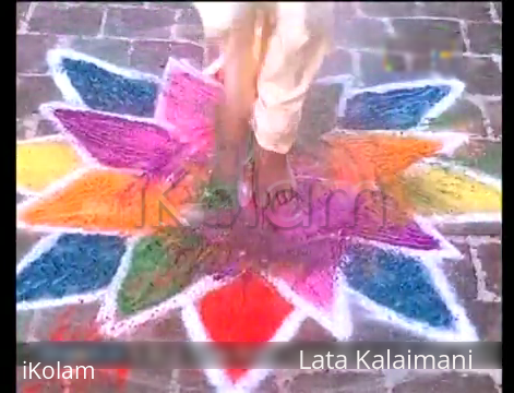 Rangoli: Guess which movie?