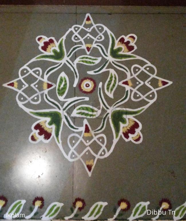 Rangoli: fusion maakolam