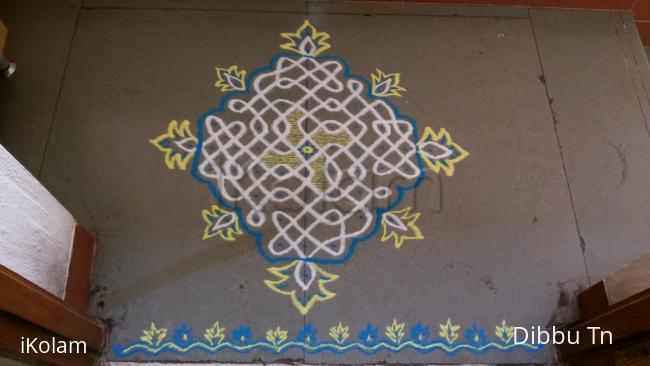 Rangoli: Margazhi Day 6 podikolam