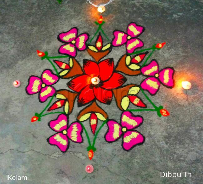 Rangoli: Happy Diwali