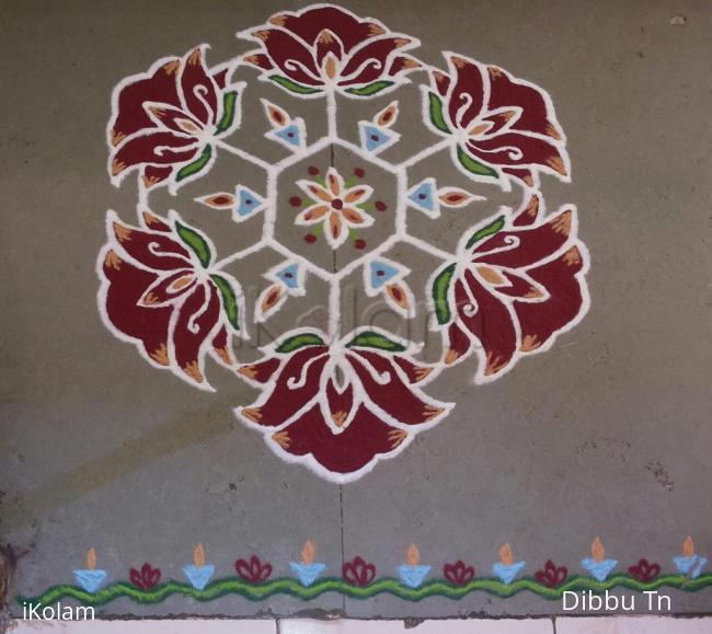 Rangoli: Margazhi Day 2 Kolam